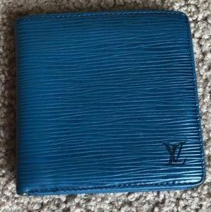 Authentic Louis Vuitton Leather Epi BiFold Wallet